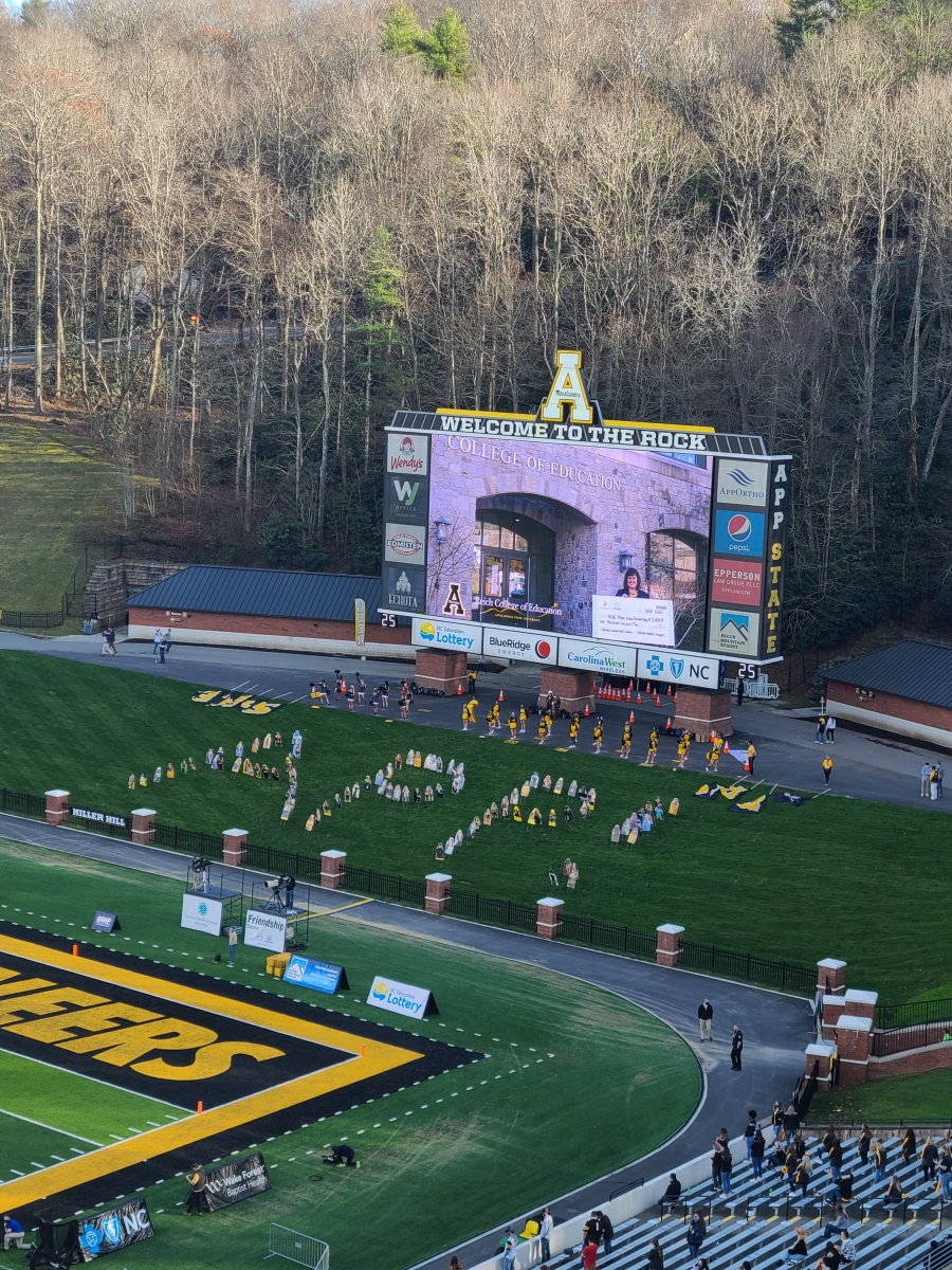 Extra Yard for Teachers Game Day Recognition