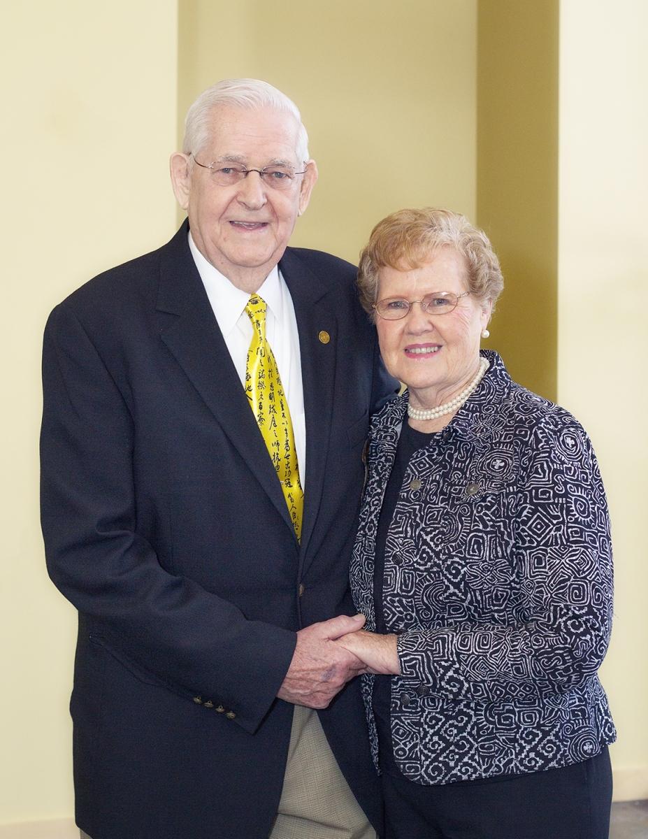 Bill and Jewel Brown