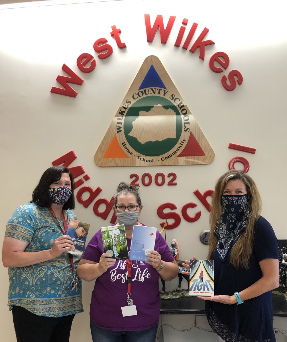 Ashley Boykin, Regina Watts, and Margo Hull