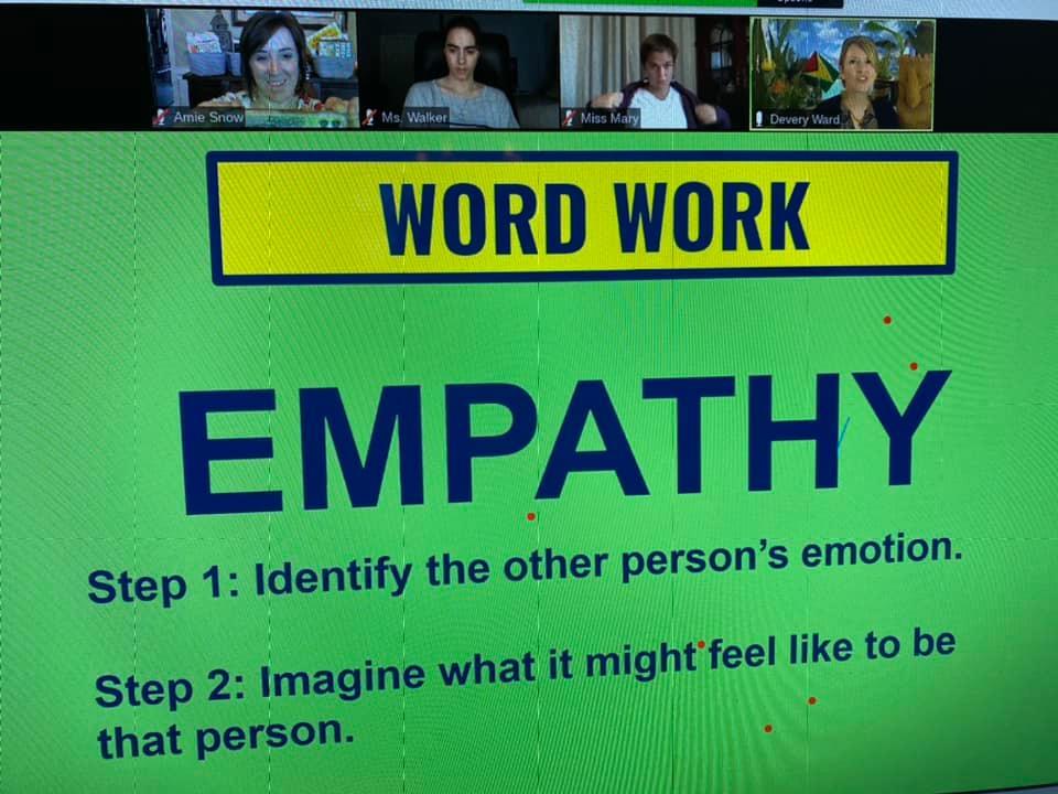 Literacy-cast screen - Word Work, Empathy