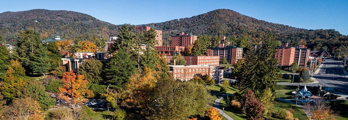 Appalachian State University Campus in Fall