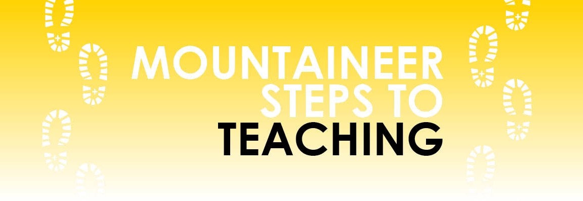 Mountaineer Steps to Teaching