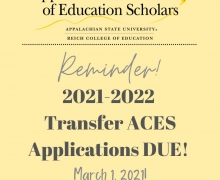 Transfer ACES Applications
