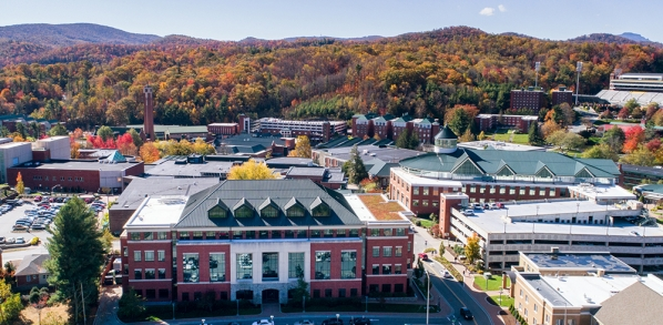 RCOE Building and Campus Scene