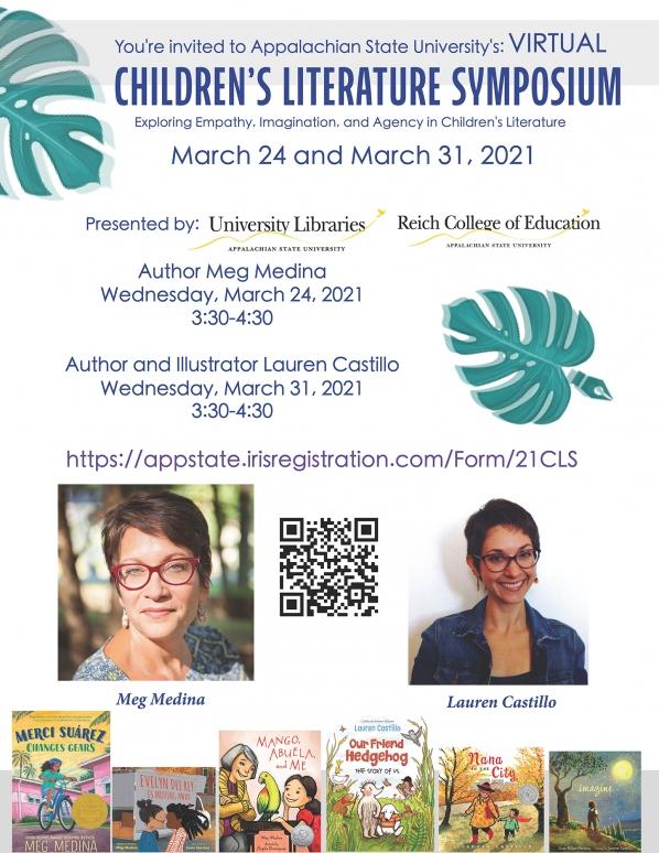 Children's Literature Symposium flyer