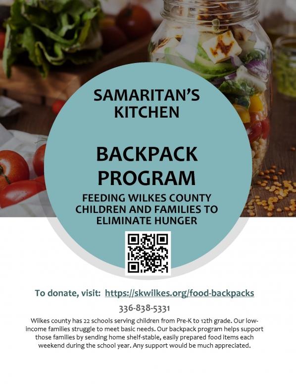 Samaritans kitchen flyer