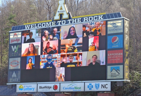 Mountaineer Readers Game Day Recognition