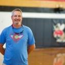 Carl Blankenship/Salisbury Post - Todd Parker in the Salisbury High School gym.