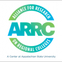 The logo of the Alliance for Research on Regional Colleges (ARRC), which is housed in Appalachian State University's Reich College of Education. Image courtesy of ARRC