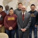 Cherokee High School Students