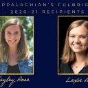 Haley Rose and Lexie All Fulbright Recipients