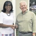 Dr. Leslie McKesson and NC Rep. Hugh Blackwell.