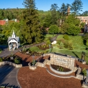 Overhead view of Founders Plaza on App State's campus