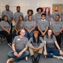 Students from Appalachian State University and Winston-Salem State University