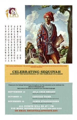 Celebrating Sequoyah poster