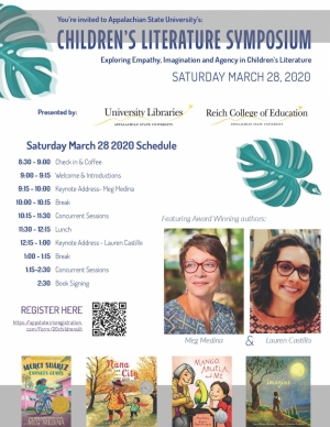 Children's Literature Symposium Poster