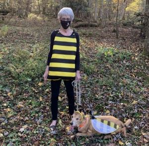 Kaaren in bee costume