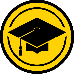 Academics icon - graduation cap