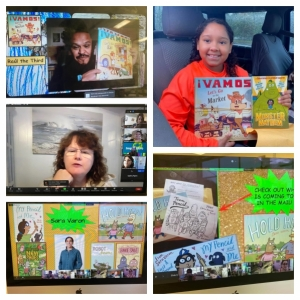 Author Visit Collage