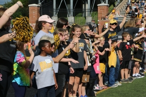 Mountaineer Readers Celebrated at Appalachian Football Game on September 29. Photo by Heather Brandon