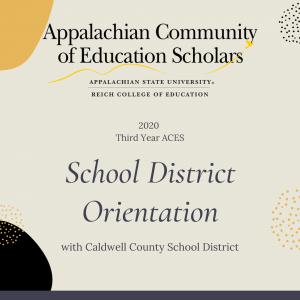 ACES School District Orientation