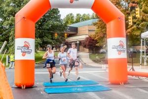 Spooky Duke runners finish
