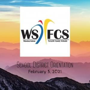 WSFCS School District Orientation