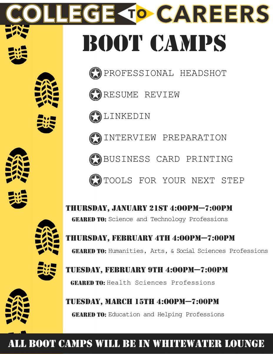 career services reich college of education college to careers boot camp opportunities