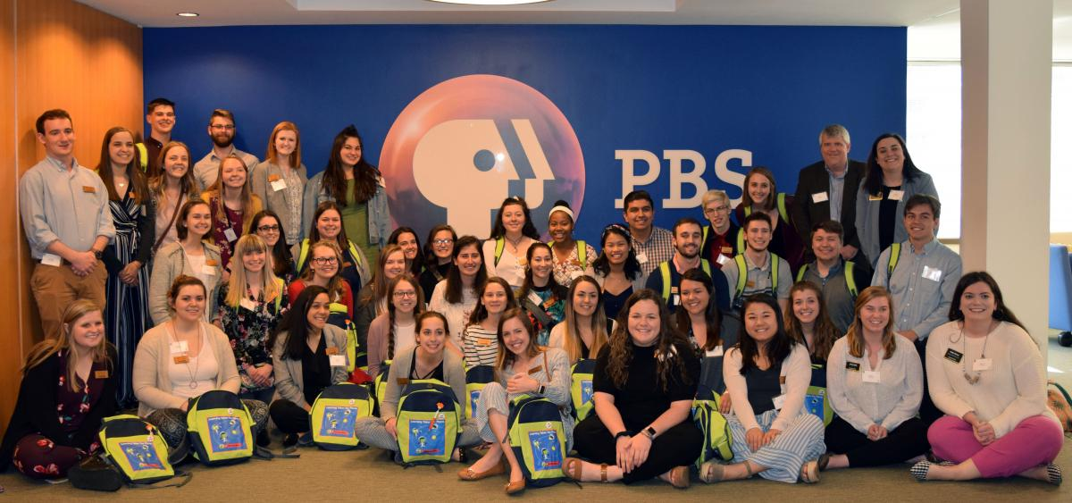 ACES students at PBS