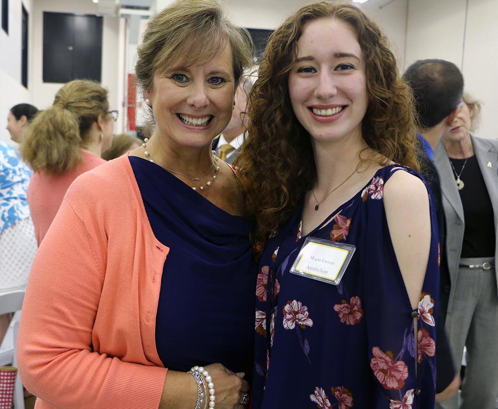Mother and Daughter elementary education majors - Caroline and Megan Greene. Caroline will graduate in December 2018, and Megan will graduate in December 2019.