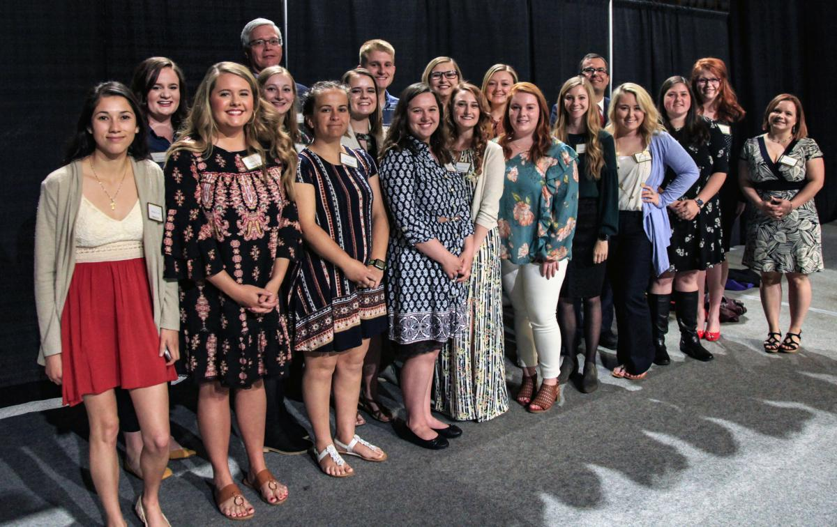 SECU Appalachian Partnership Scholarship recipients