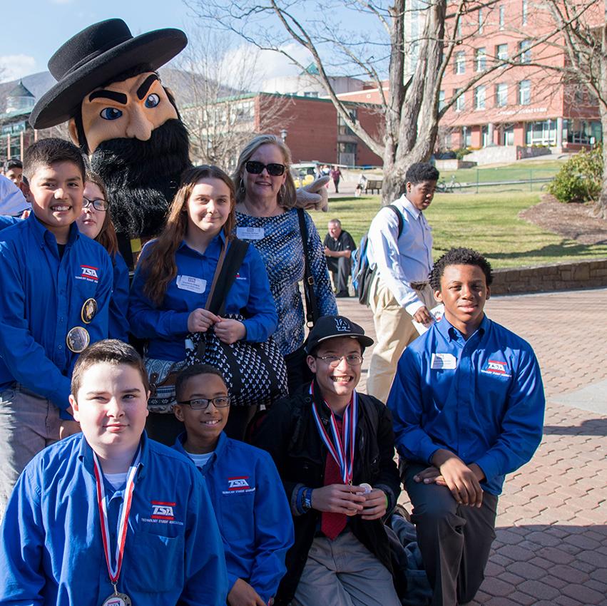 Stem School Greensboro Nc: North Carolina Technology Student Association Western