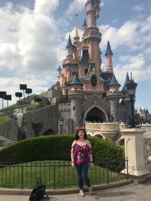 Appalachian student Raiann Rosier at Disney.