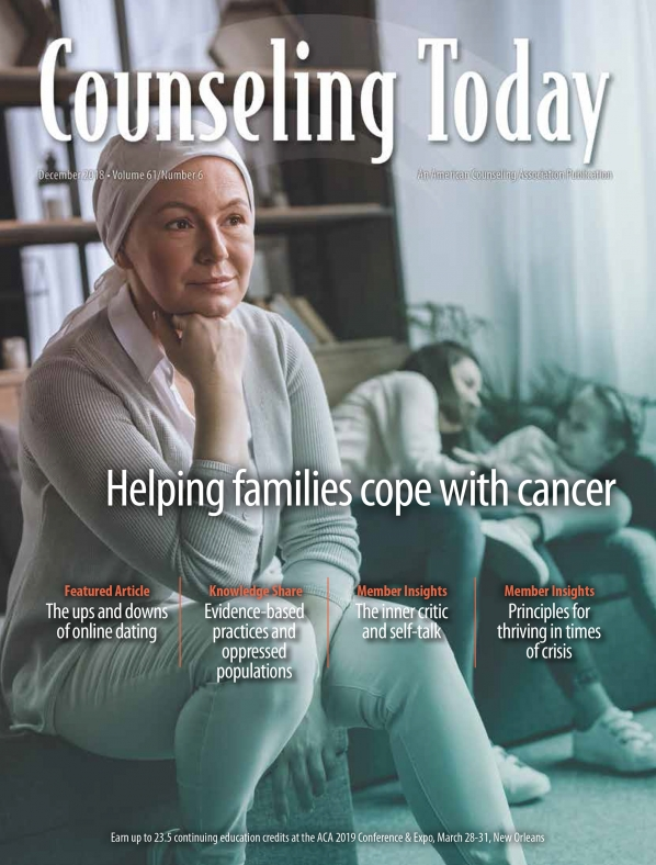 Counseling Today December 2018 cover