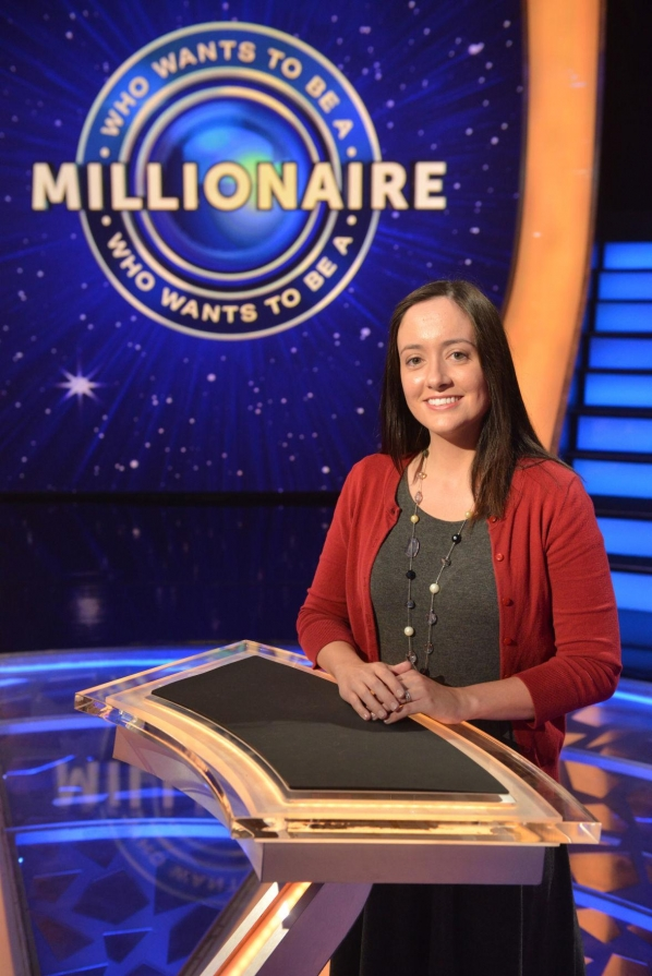 "Clemmons resident Joni Russell will compete today on ""Who Wants to Be a Millionaire."""
