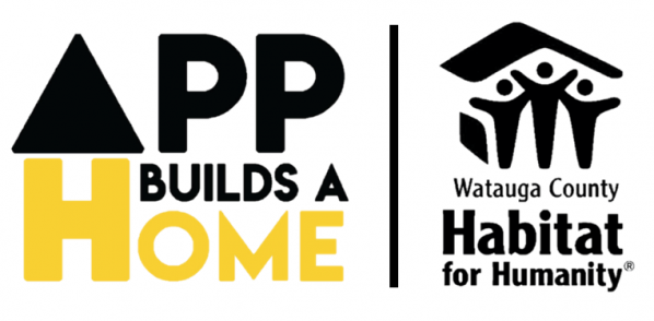 App Builds A Home and Habitat for Humanity logos