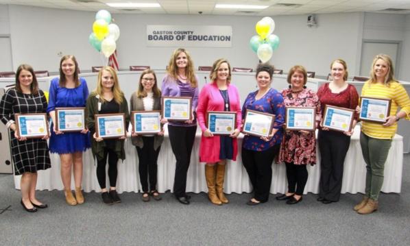 Gaston teachers earn national certification