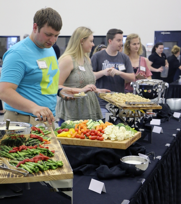 Appalachian State University's Reich College of Education (RCOE) held a dinner to honor recipients of the State Employees' Credit Union (SECU) Appalachian Partnership Scholarship at the North Carolina Small Business and Technology Development Center (SBTDC) in Hickory, North Carolina on Wednesday, May 9, 2018.