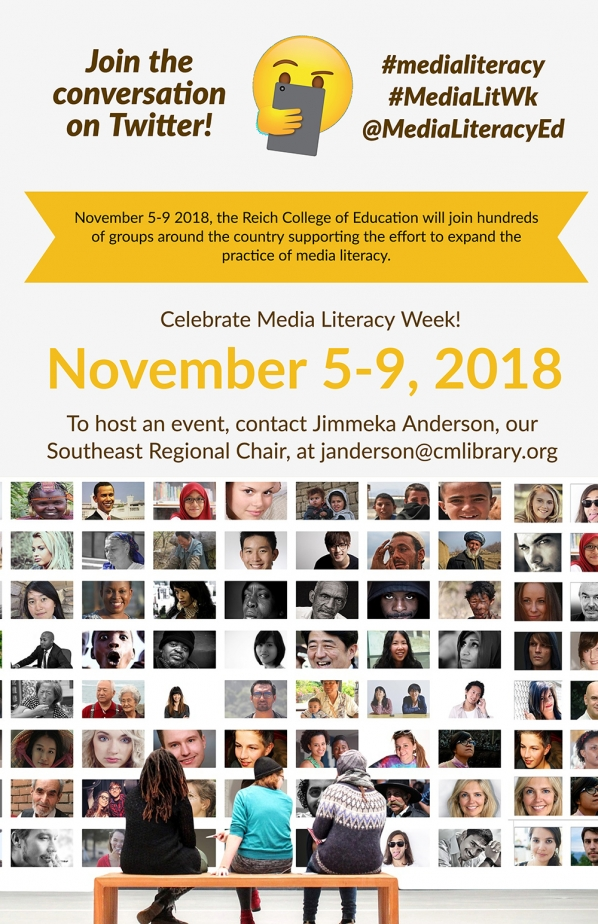 Media Literacy Week is November 5-9
