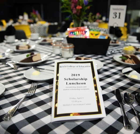 Scholarship Luncheon Program