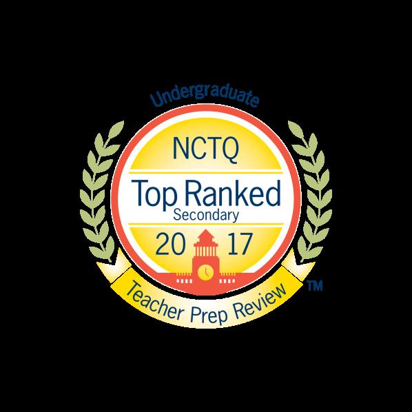 National Council on Teacher Quality badge