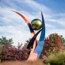 Aspire sculpture