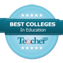 Teacher.org Best Colleges badge