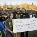 Appalachian State University's Reich College of Education and Watauga County Schools Receive $10,000 Gift from the Sun Belt Conference. Photo by Marie Freeman