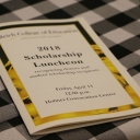 2018 Scholarship Luncheon was held Friday, April 13