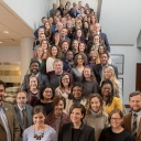 Representatives from each of the 2019 YALI institute partners at the partner retreat held in Washington, D.C., in late January.