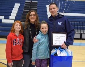 Dr. Chris Blanton and his family