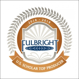 Fulbright badge