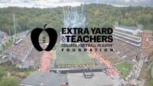App State To Assist Community Through Extra Yard For Teachers Grant