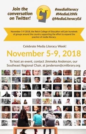 Media Literacy Week is November 5-9
